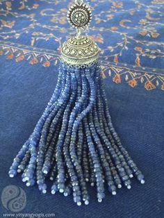 Limited Edition Blue Sapphire Tassle