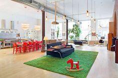 Industrial loft style apartment