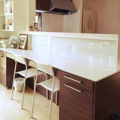 Sayuri.a0904さんの、キッズカウンター,L型 キッチン,北欧,カフェ風,ブリアール,一条工務店,IKEA,リビング,のお部屋写真