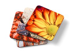 Shutterfly coasters complement your sweet, summer treats and refreshments.