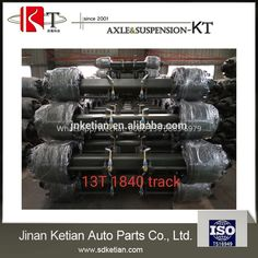 13 ton American type semi trailer independent axle for sale