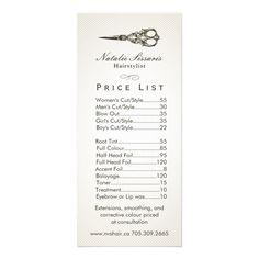 Hair Salon Price List, Hair Salon Prices, Small Hair Salon, Hair Salon Names, Vintage Hair Salons, Vintage Salon Decor, Hair Salon Business Plan, Home Hair Salons, Makeup Salon