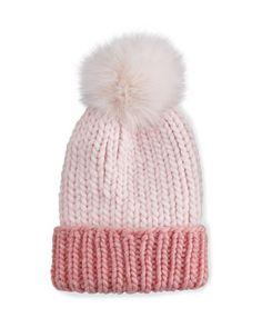 872b454a052 Eugenia Kim Rain Hat with Fur Pom Pom