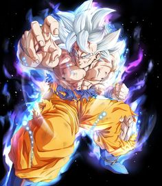 Goku Ultra Instinto Dominado