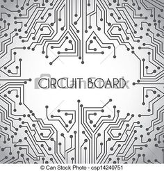 Circuit Board PowerPoint Background   Transition   Pinterest ...