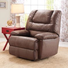Topaz Collection Chocolate Deluxe Lift Recliner lift