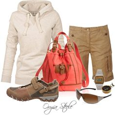 """Outdoor Adventure"" by orysa on Polyvore...What I want to wear when hiking, but won't spend the money."