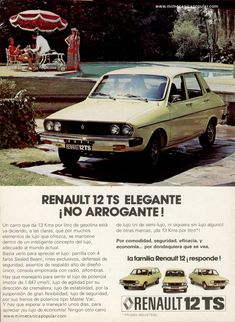 Renault 12 , mine was red. Great car, many lessons in auto repairs