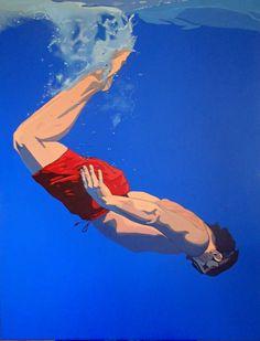 Aleksandra Matulewicz  acrylic on canvas 130 x 100 cm