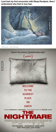 If you are interested in lucid dreams, I highly recommend you this pretty accurate documentary. - 9GAG