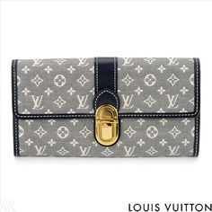 $849.00  LOUIS VUITTON! Authentic SARAH WALLET MONOGRAM IDYLLE Canvas! Brand New Image of Pure Glamour In Original Packaging Ladies Wallet. Comes from Rodeo Drive Boutique in Beverly Hills! RETAIL: $805.00