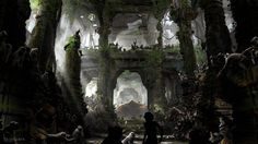 The Jungle Book Concept Art by Seth Engstrom – Concept Art World