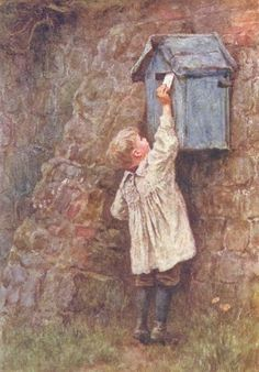 Her Majesty's Post Office by Helen Allingham (1848–1926, English)