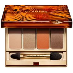 Clarins Eye Color Quartet & Liner Palette, Sunkissed Summer Collection found on Polyvore featuring beauty products, makeup, eye makeup, eyeshadow, no color, palette eyeshadow, clarins eyeshadow, clarins and clarins eye shadow