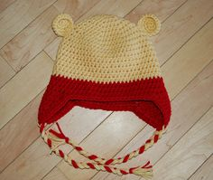 Crochet Bear Hat by BranchsCreations on Etsy, $20.00