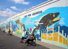 NY Aquarium in Brooklyn, New York!!