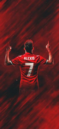 Alexis Sanchéz - Manchester United All Credits to F_Edit Manchester United Wallpaper, Manchester United Football, Football Is Life, Football Players, Football Fans, Alexis Sanchez Manchester United, Play Soccer, Nike Soccer, Soccer Cleats