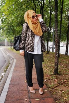 SEQUINS AND BACKPACKS #SheaRasol #Hijab Outfit #muslimah