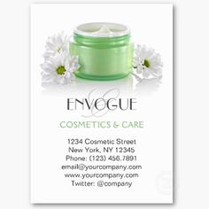 72 best beauty cosmetics spa skincare business cards images on this eye catching cosmetic business card template featuring a green brand free jar with facial cream moisteriser anti aging or skin care product with colourmoves