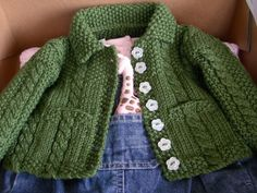SO MUCH YARN, SO LITTLE TIME!: Cable and Seed Stitch Jacket