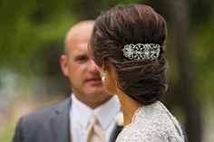 My wedding hair updo.