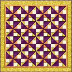 FaveQuilts Talks: Helen Draper - Find an awesome discussion with the designer behind the Purple Illusions Quilt right here!