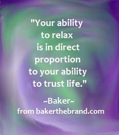 Awesome quote from bakerthebrand.com