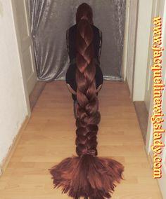 x-long very thick heavy braid.