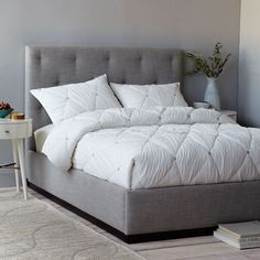 diy upholstered bed. Plinth Upholstered Bed Frame Diy O