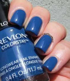 Revlon Indigo Night #lightyournails