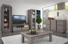 Znalezione obrazy dla zapytania komody drewniane do salonu nowoczesne drewniane