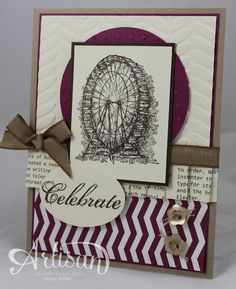 WNW Sentimental Ferris Wheel by Wendybell - Cards and Paper Crafts at Splitcoaststampers