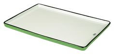 ceramic tray, looks like enamel