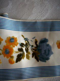 beautiful antique silk ribbon