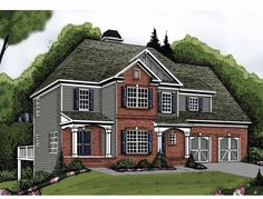 Eplans Traditional House Plan - Three Bedroom Traditional - 1819 Square Feet and 3 Bedrooms(s) from Eplans - House Plan Code HWEPL62845