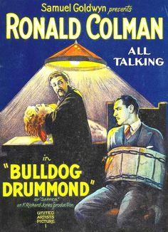 6/24/14  3:36a  United Artists  Picture  Samuel Goldwyn  Production  ''Bulldog Drummond''  Ronald Colman Vintage Movie Poster   Best Actor Oscar  Nom 1929