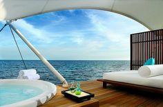 Away Spa Treatment Area by W Retreat & Spa - Maldives