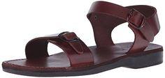 Jerusalem Sandals Unisex The Original Rubber Gladiator Flat Sandal