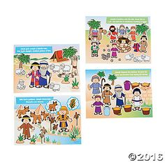 Stories of Joseph Mini Sticker Scenes