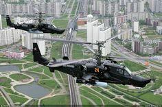 ka-50 over suburbs