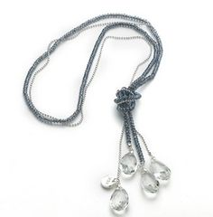 Nora Norway Siena 90 Necklace - Grey