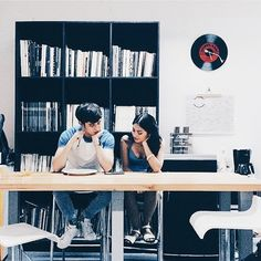 Sometimes you meet a person and you just click—you're comfortable with them like you've known them your whole life and you don't have to pretend to be anyone or anything. #justfriendstho #jamesreid #nadinelustre