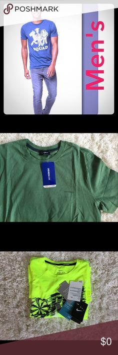 🎉Men's Collection 🎉 🛍bundle 10% off🛍  Ralph Lauren/ Nike / Adidas all original branded clothing . Shirts Tees - Short Sleeve