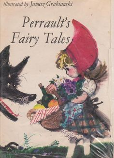Janusz Grabianski's illustrations for Charle's Perrault's Fairy Tales book