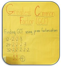All Things Upper Elementary: Guest Post Middle School Math Moments: Learning to Love Prime Factorization