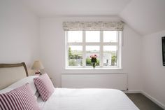 The bedrooms at 1 The Sands are modern and beautifully decorated. Enjoy countryside views from this double bedroom of the self-catering holiday home in Polzeath, North Cornwall. North Cornwall, Private Garden, Double Bedroom, New Builds, Sands, Countryside, Catering, Bedrooms, Cottage