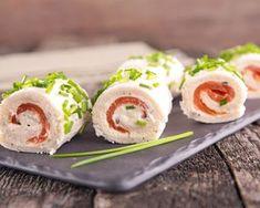 Roulé au saumon facile