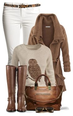 """""""Untitled #1917"""" by johnna-cameron ❤ liked on Polyvore featuring Cole Haan, Fat Face and Steve Madden"""