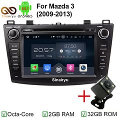 2G RAM HD 1024*600 Android 6.0 Car DVD Multimedia Video Player Head Unit for MAZDA 3 2009 2010 2011 2012 GPS 3G 4G Radio Stereo #Affiliate