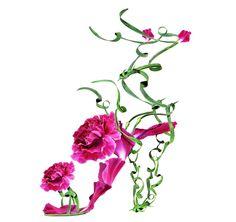Fashion Show: Floral Fantasies   Художник-Фотограф Michel Tcherevkoff